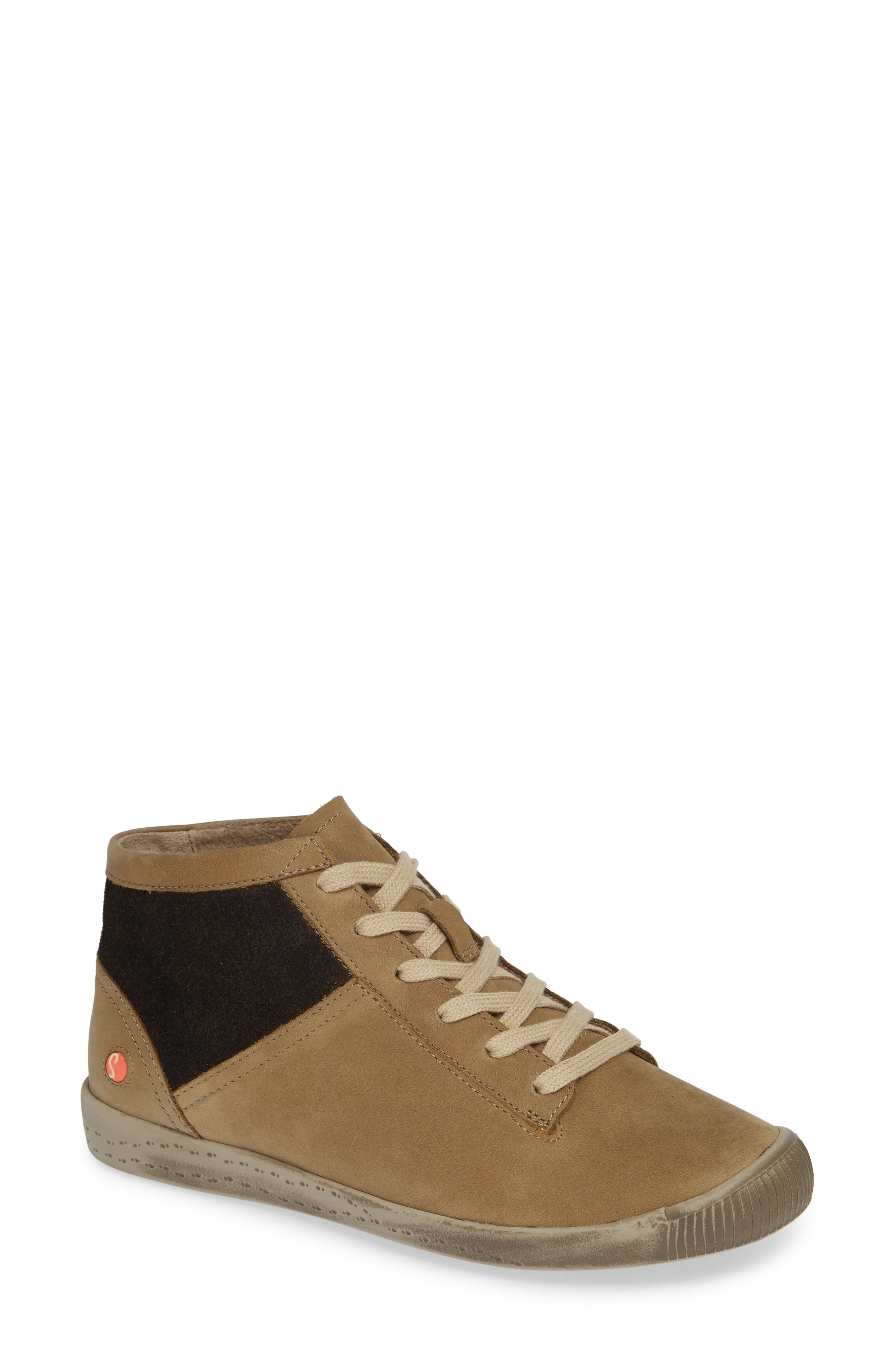 Softinos By Fly London Iap High Top Sneaker - Grey