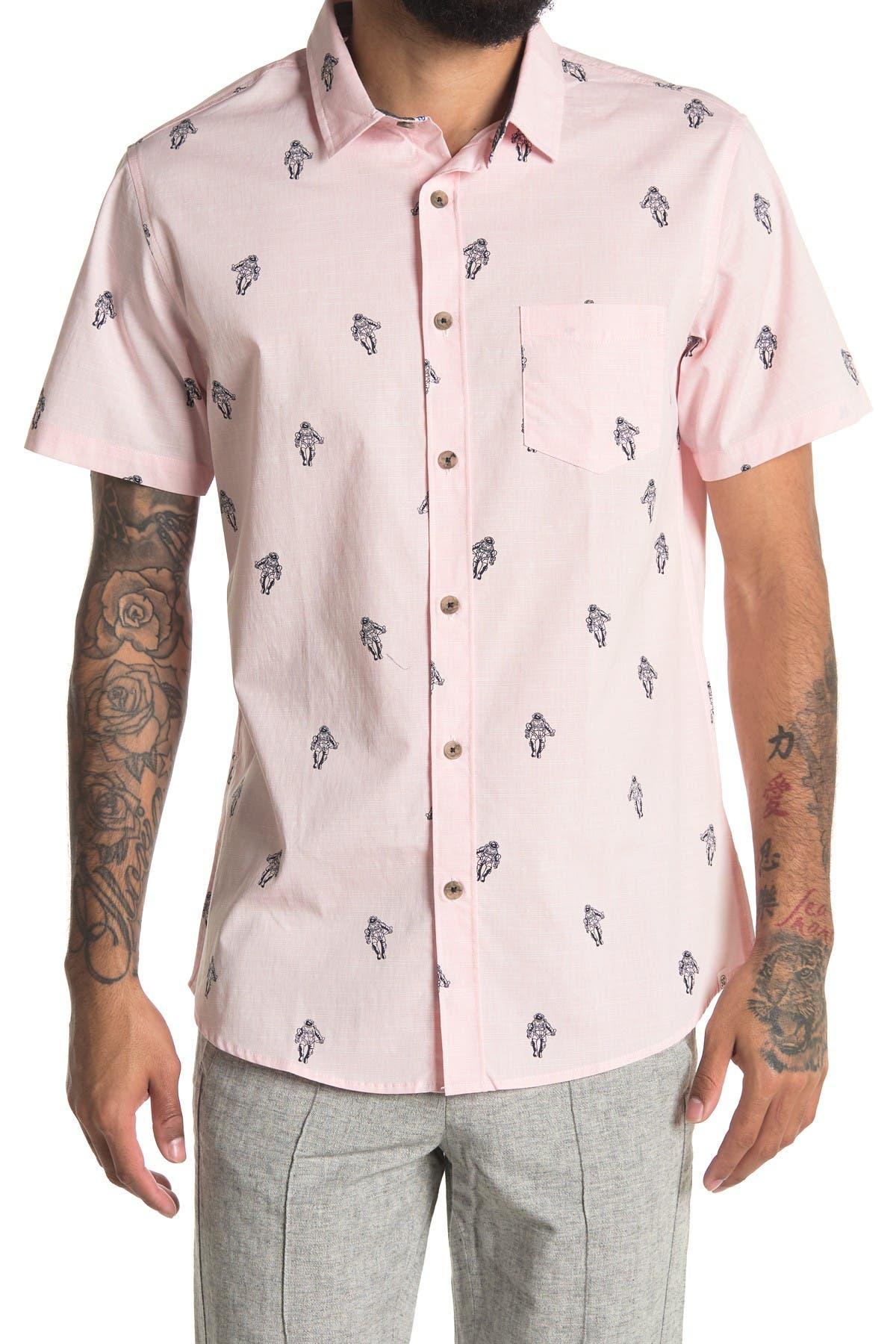 Image of Sovereign Code Whiteside Short Sleeve Button Down Shirt