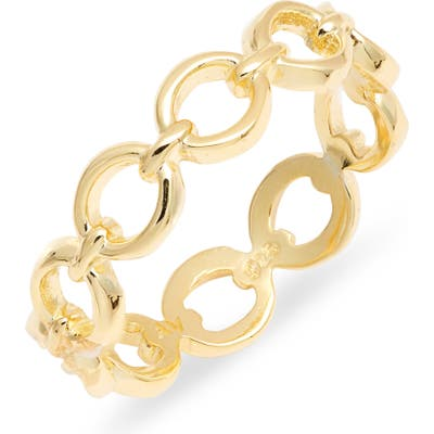 Argento Vivo Chain Link Ring