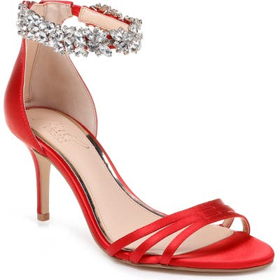 Jewel Badgley Mischka Zamora Ankle Strap Sandal