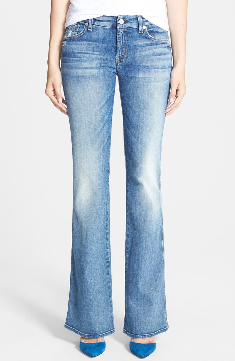 7 FOR ALL MANKIND<SUP>®</SUP> A-Pocket Flare Jeans, Main, color, 400
