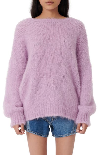 Maje FUZZY SWEATER