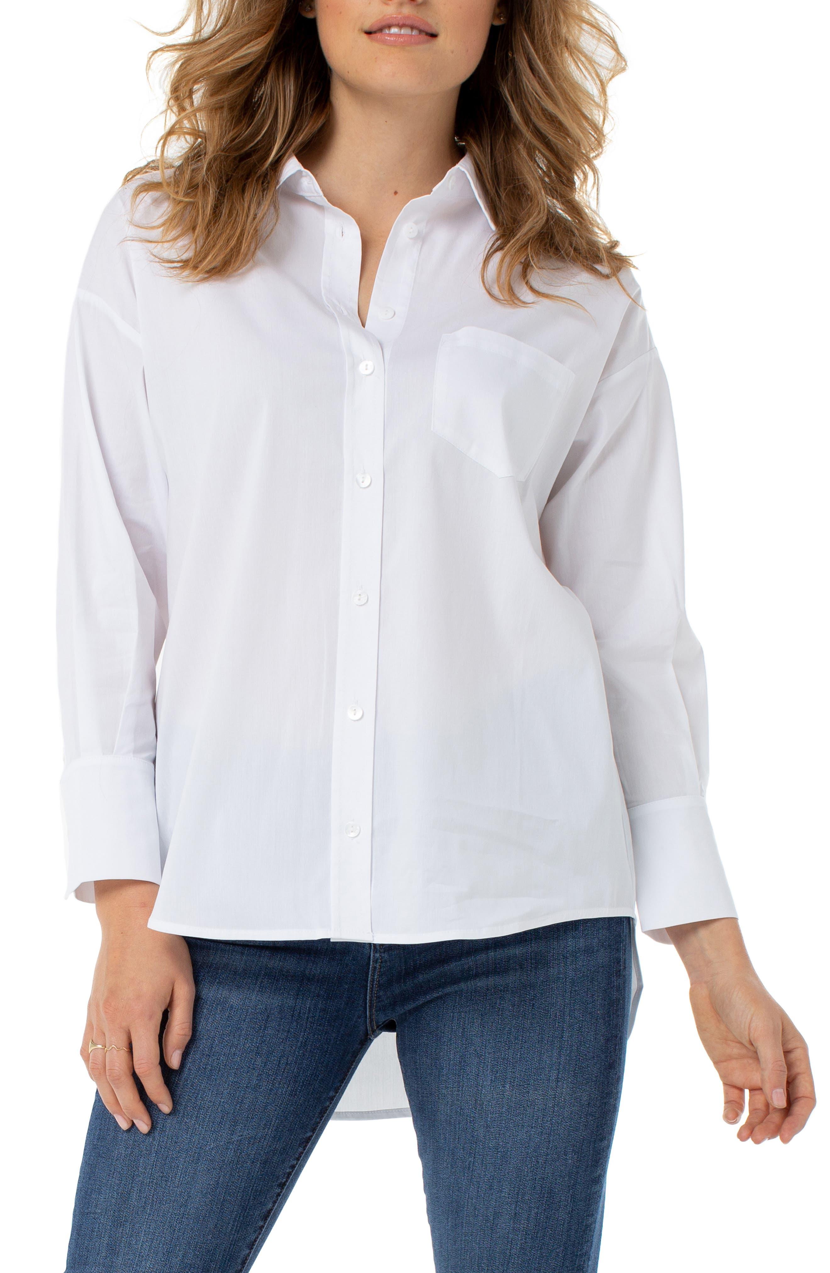 Oversize Classic Button-Up Shirt