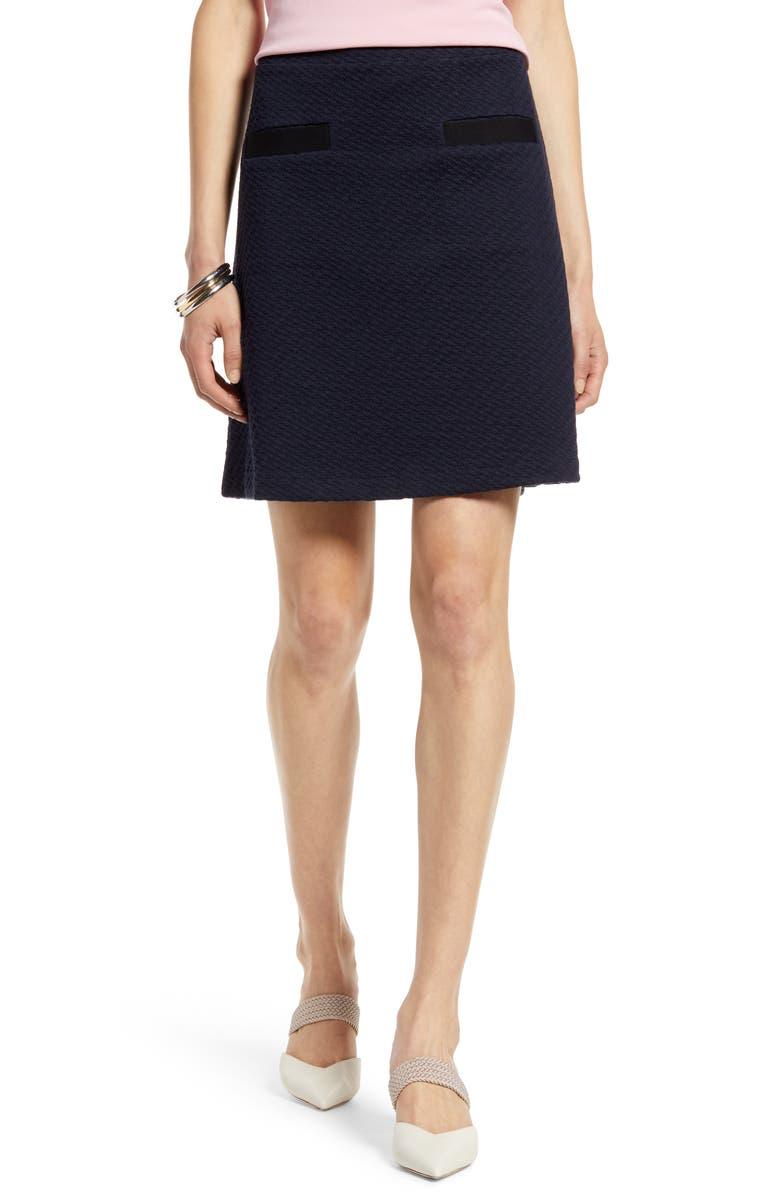 HALOGEN<SUP>®</SUP> Jacquard Knit Skirt, Main, color, 410