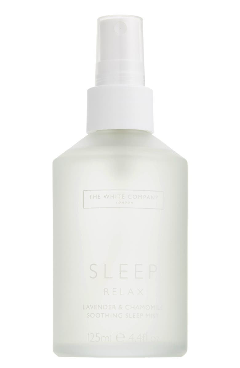 THE WHITE COMPANY Natural Sleep Soothing Sleep Mist, Main, color, WHITE