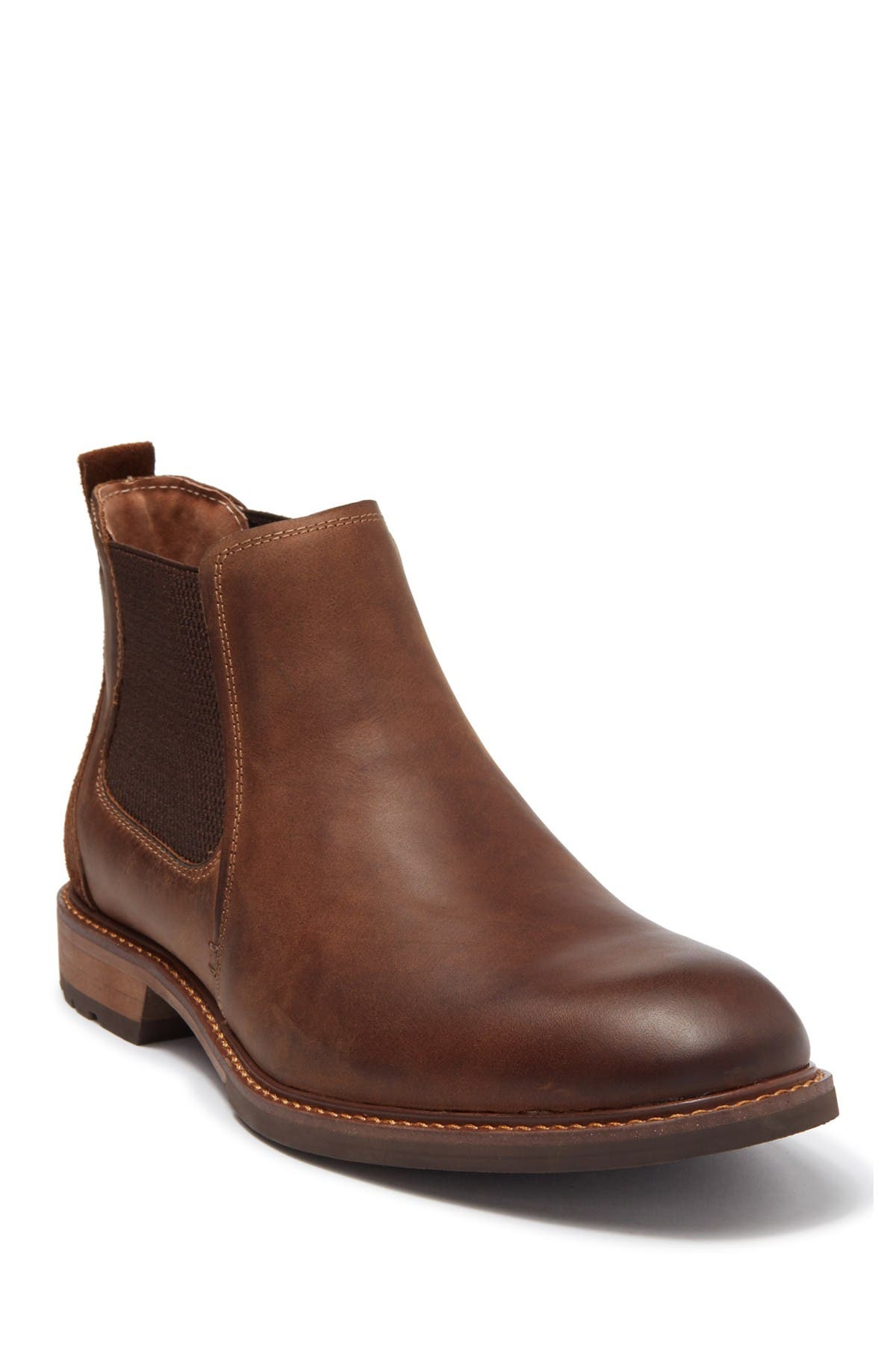 Image of Florsheim Chalet Plain Toe Leather Chelsea Boot