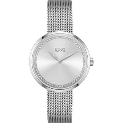 Boss Praise Mesh Strap Watch, 4m