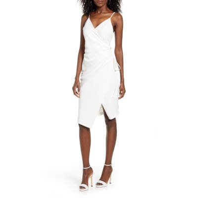 43Si3Nna Aerin Ruched Bodycon Dress, Ivory