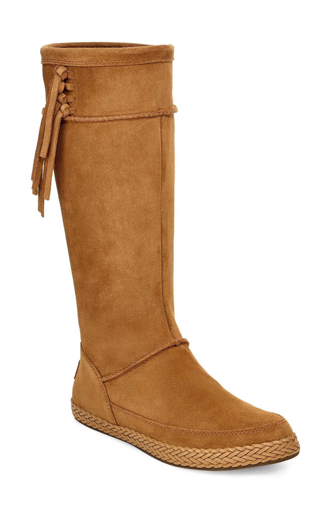 Vintage Boots- Buy Winter Retro Boots Womens UGG Emerie Tall Boot Size 5.5 M - Brown $149.95 AT vintagedancer.com