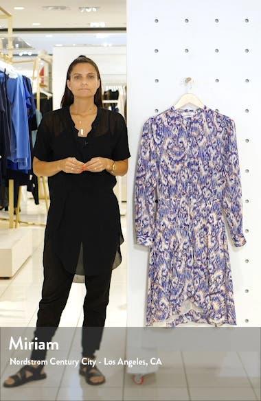 Yandra Long Sleeve Silk Dress, sales video thumbnail