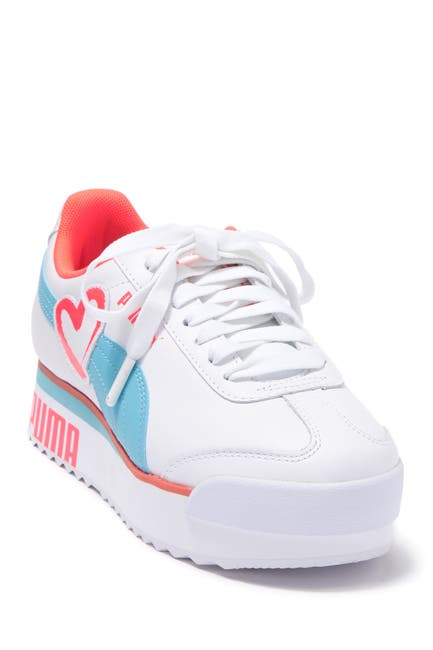 Image of PUMA Roma Amor Heart Leather Sneaker