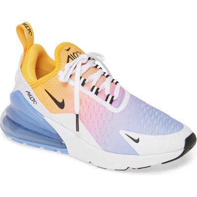 Nike Air Max 270 Premium Sneaker, Orange