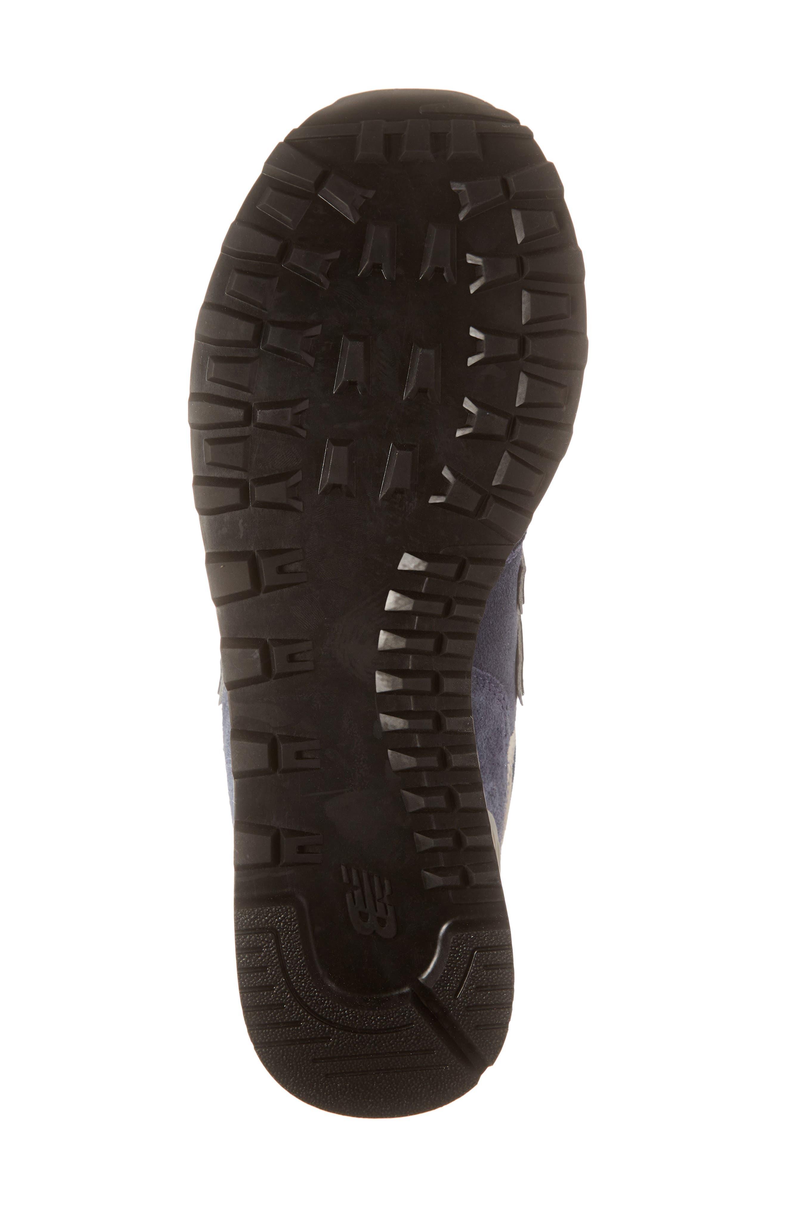 ,                             574 Classic Sneaker,                             Alternate thumbnail 6, color,                             BLACK IRIS