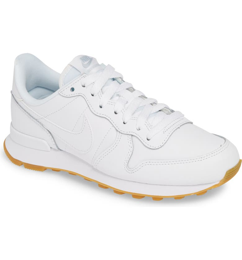online store ccce0 4fc01  Internationalist  Sneaker, Main, color, WHITE  WHITE  GUM LIGHT BROWN