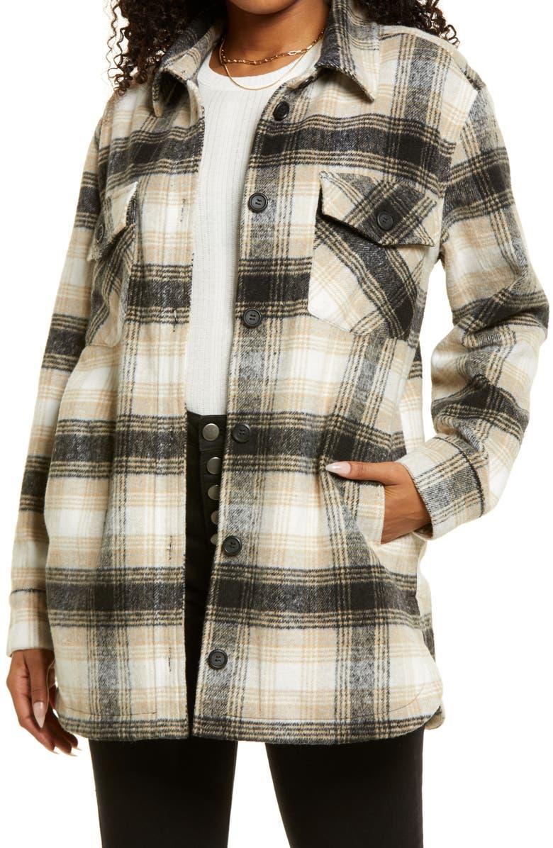 THREAD & SUPPLY Shirt Jacket, Main, color, 010
