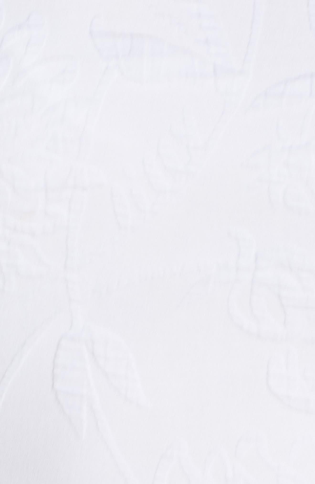 ,                             Kayla Bell Sleeve Dress,                             Alternate thumbnail 6, color,                             RESORT WHITE CALIENTE PUC