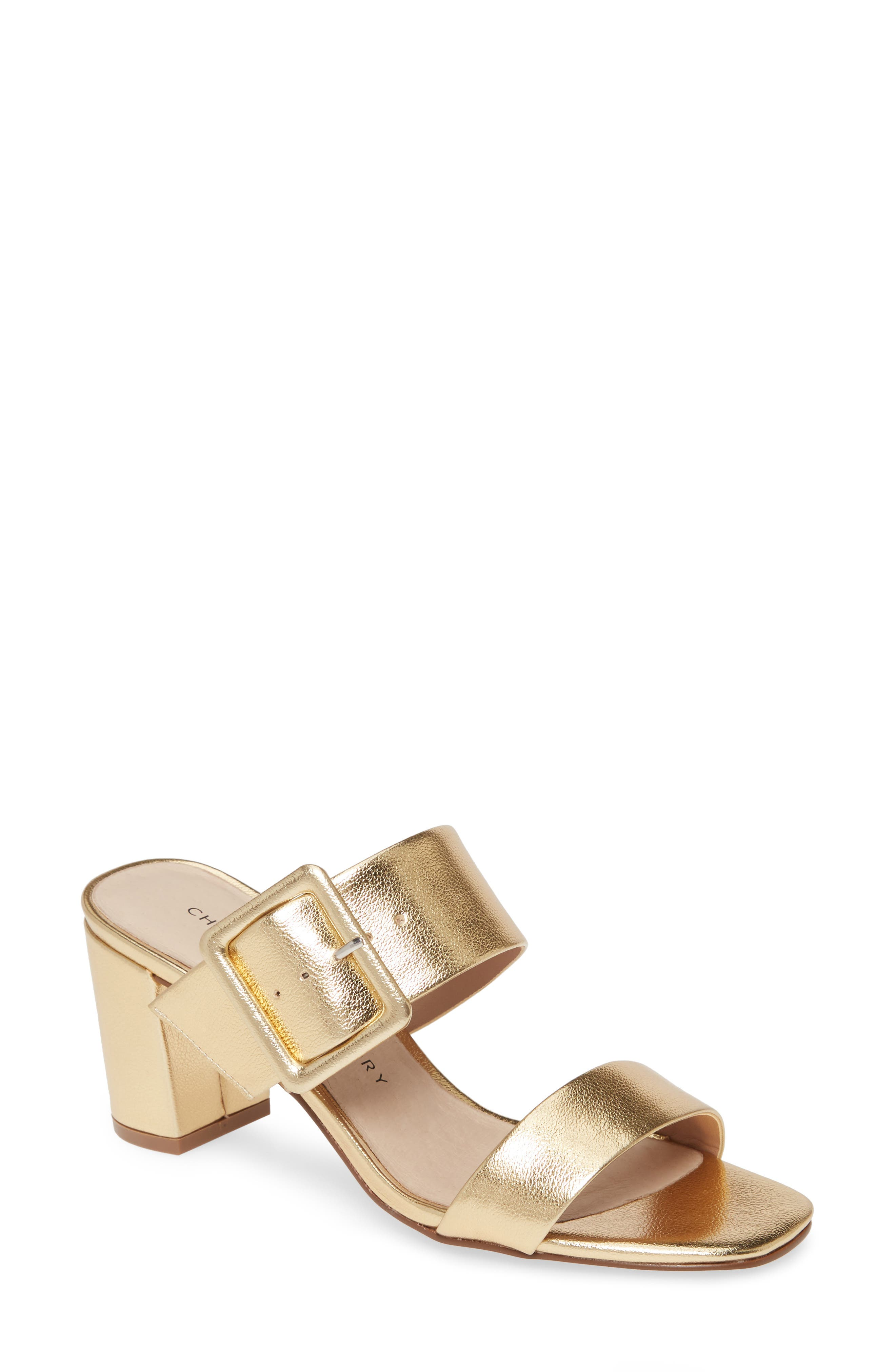 Wide straps and a bold buckle amplify the modern appeal of this block-heel sandal. Style Name: Chinese Laundry Yippy Block Heel Sandal (Women). Style Number: 5798547. Available in stores.