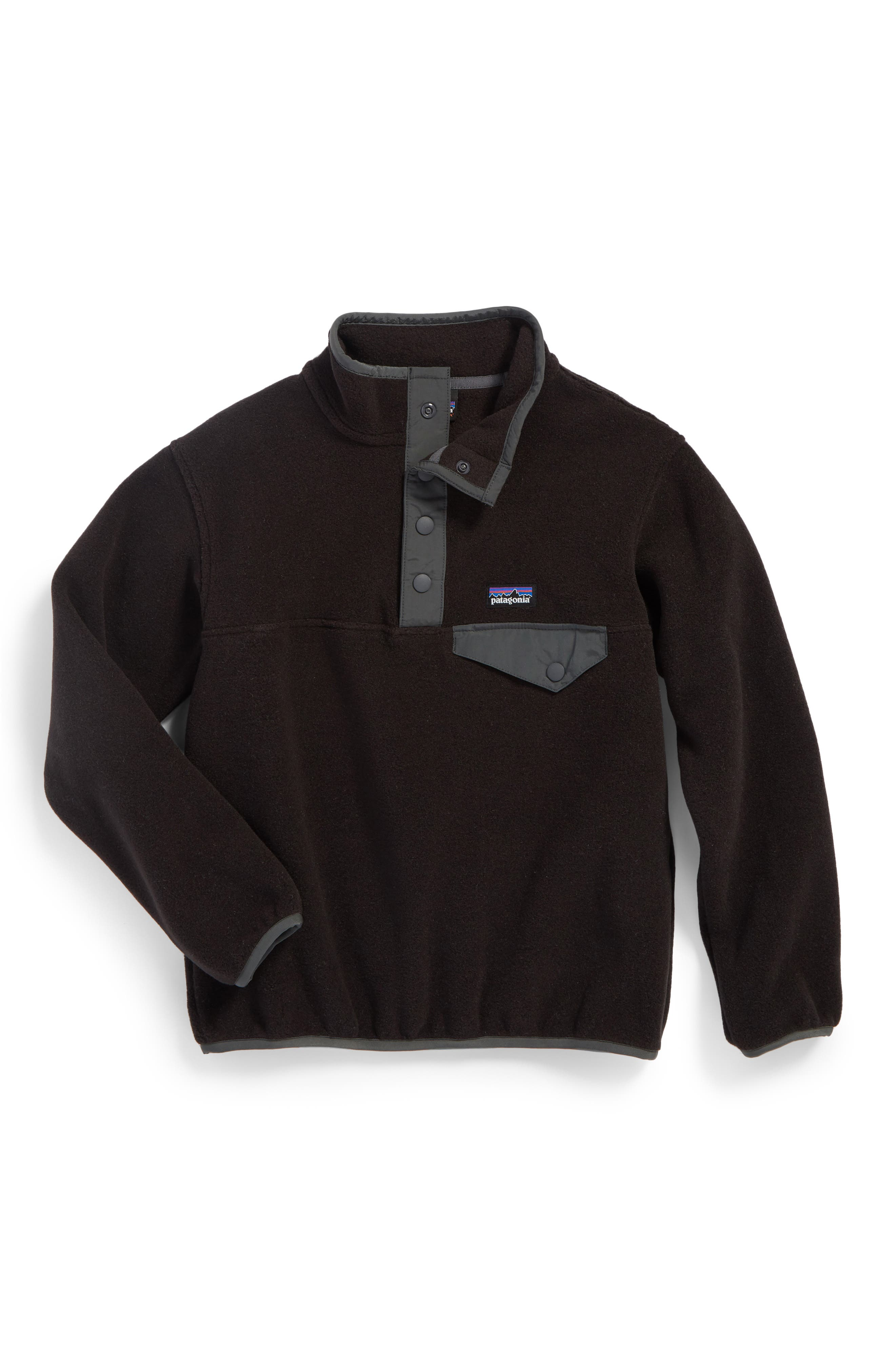 ,                             Synchilla<sup>®</sup> Snap-T<sup>®</sup> Fleece Pullover,                             Main thumbnail 1, color,                             001
