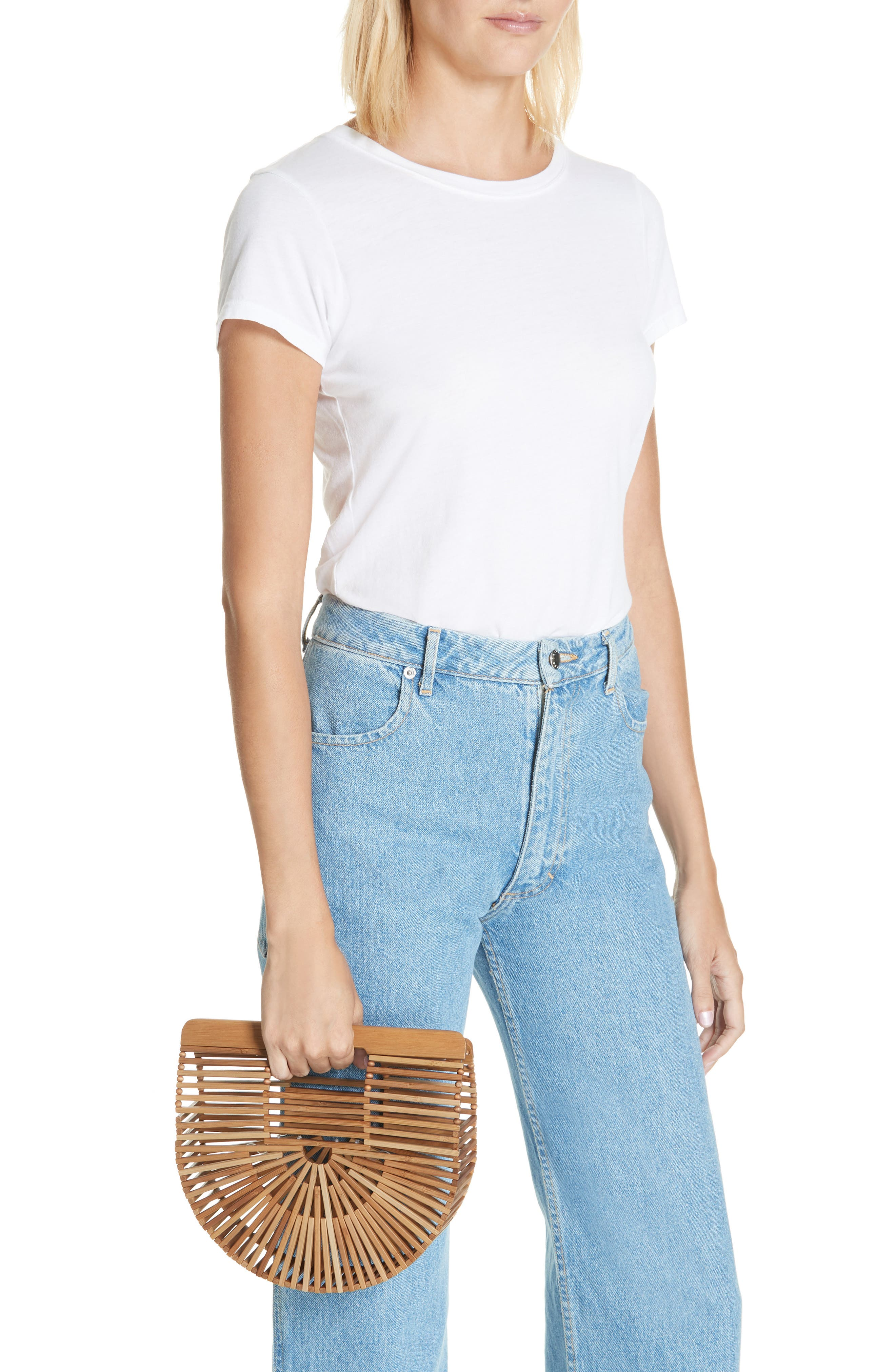 ,                             Mini Ark Handbag,                             Alternate thumbnail 2, color,                             CHESTNUT