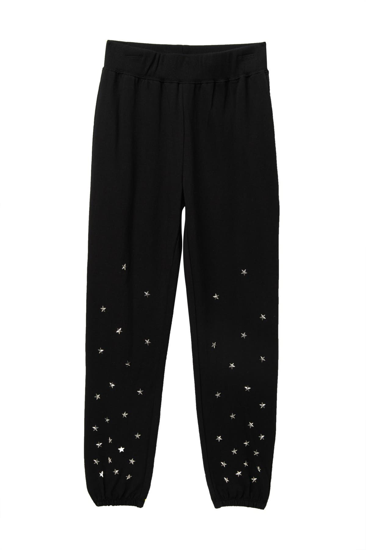 Image of Ella Moss Star Studded Jogger Pants