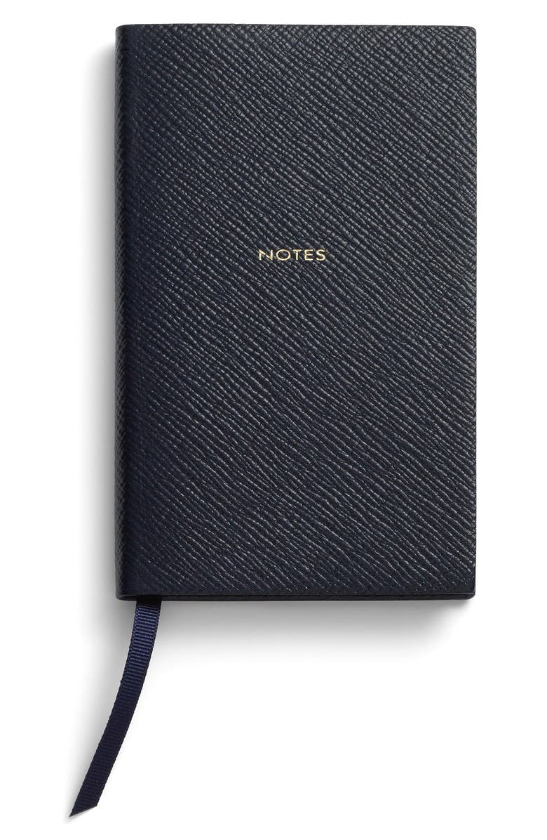 SMYTHSON 'Panama Notes' Pocket Notebook, Main, color, 450