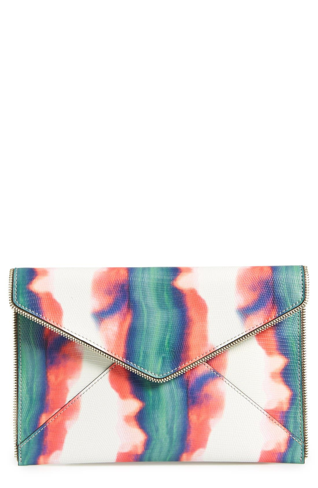 ,                             Leo Envelope Clutch,                             Main thumbnail 118, color,                             101