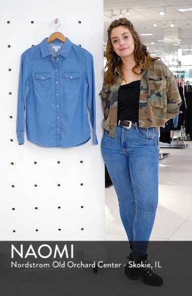 Fitted Denim Shirt, sales video thumbnail