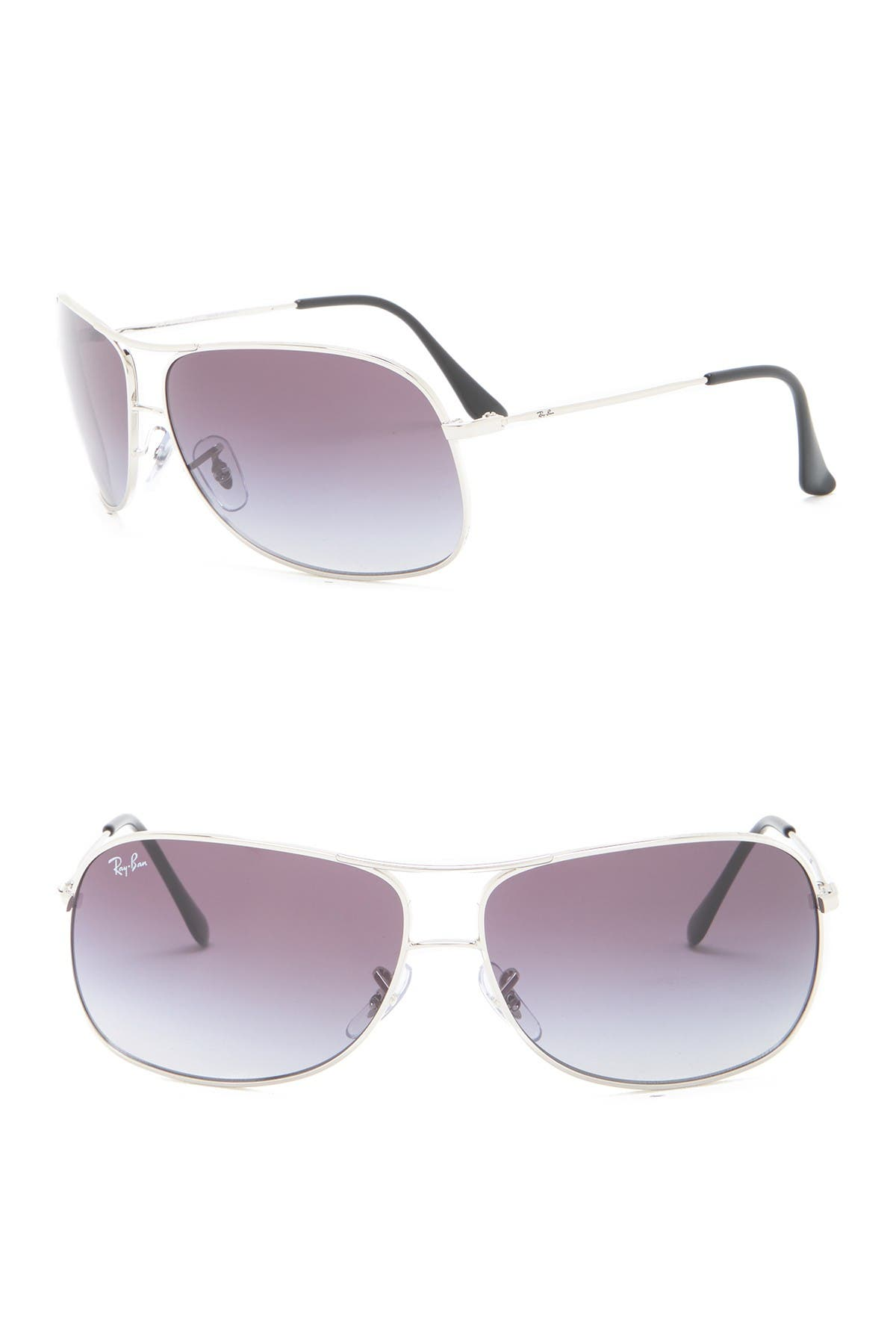Image of Ray-Ban 64mm Aviator Sunglasses