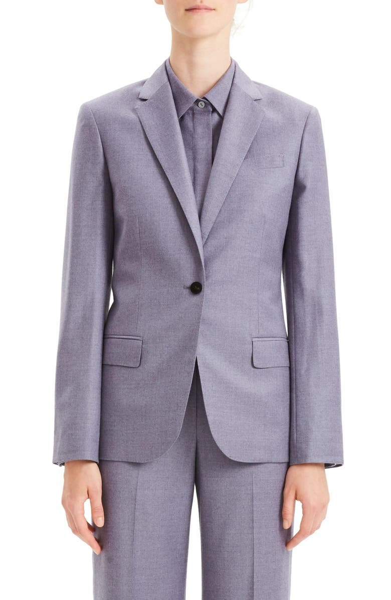 THEORY Staple Wool Blazer, Main, color, 020