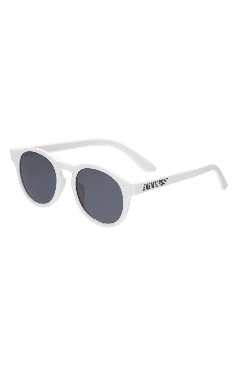 BABIATORS Original Keyhole Sunglasses, Main, color, WICKED WHITE