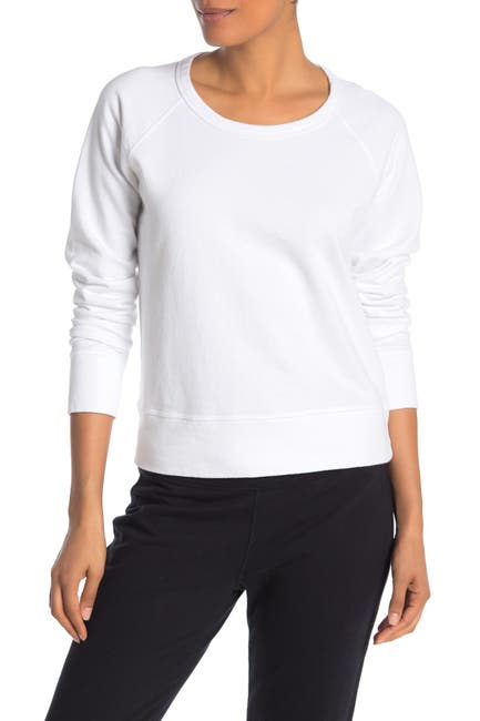 Image of James Perse Crew Neck Knit Sweatshirt