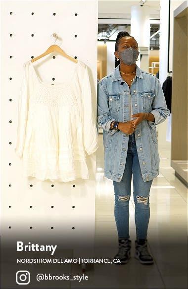 Ari Long Sleeve Minidress, sales video thumbnail