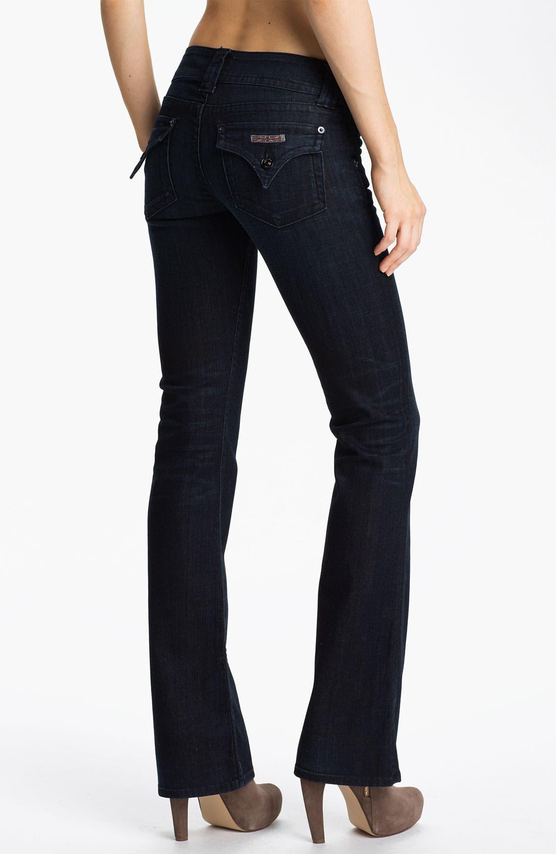,                             Signature Flap Pocket Bootcut Jeans,                             Alternate thumbnail 35, color,                             414