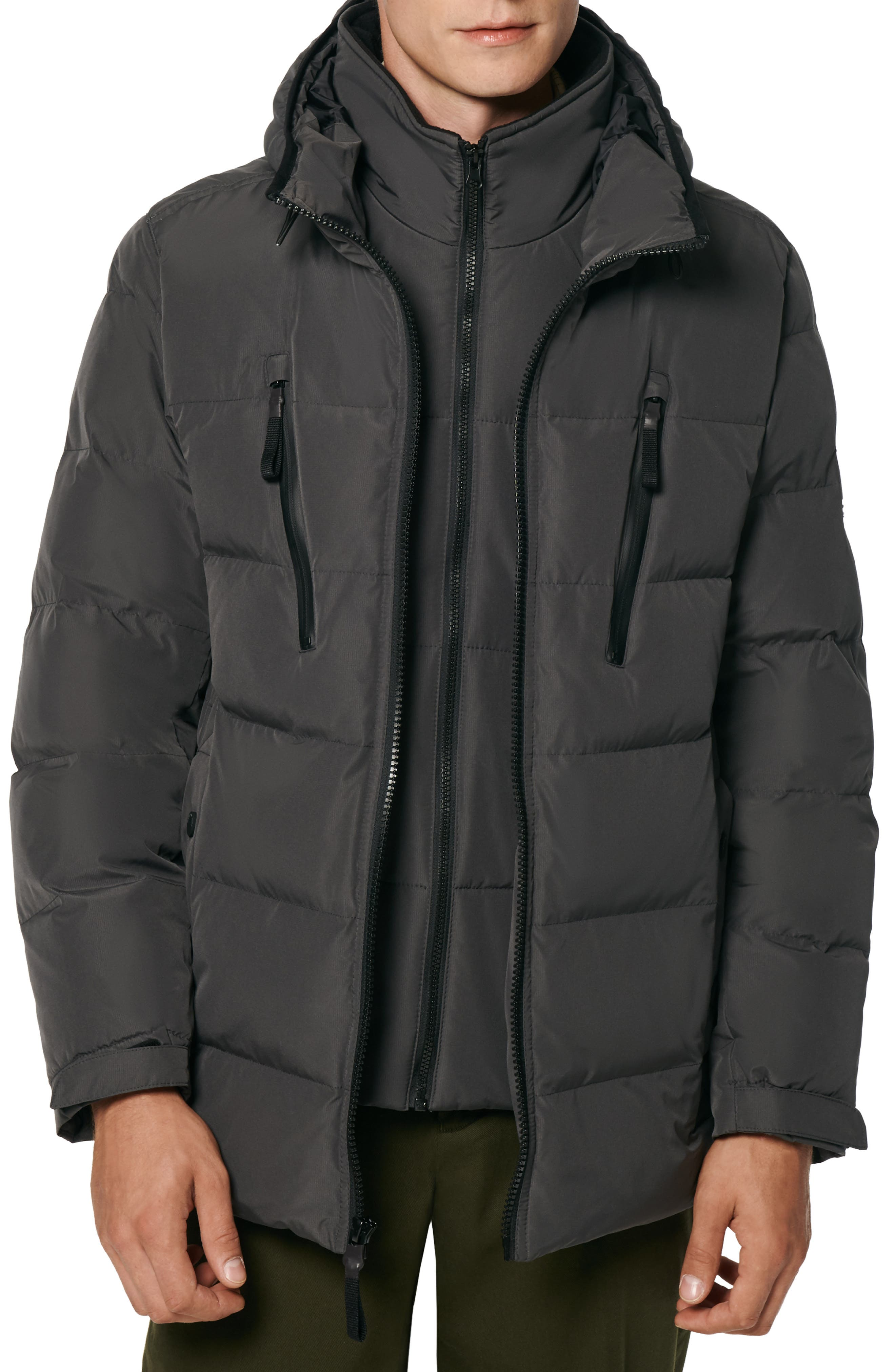 Montrose Water Resistant Down & Feather Fill Quilted Coat
