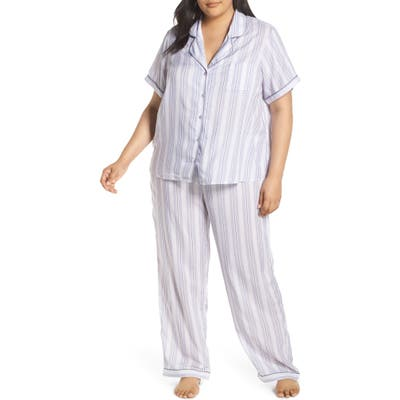 Plus Size Nordstrom Lingerie Sweet Dreams Pajamas, Purple