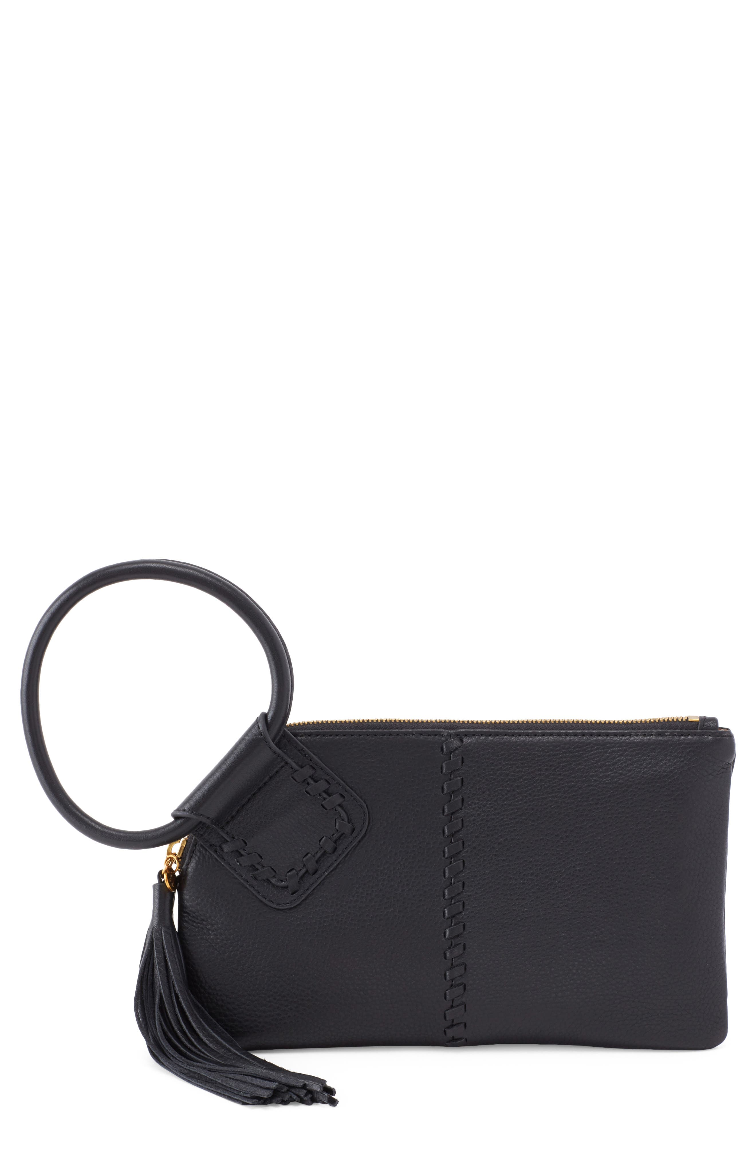 Storm Leather Clutch