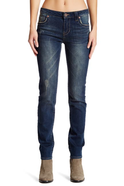 Image of KUT from the Kloth Stevie Straight Leg Jeans