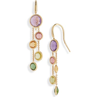 Marco Bicego Mixed Stone 2-Strand Earrings
