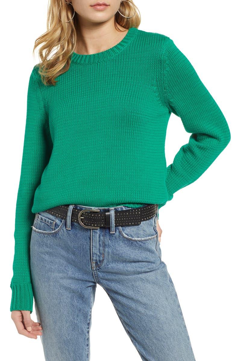 TREASURE & BOND Crewneck Sweater, Main, color, 310