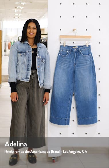 Crop Wide Leg Jeans, sales video thumbnail