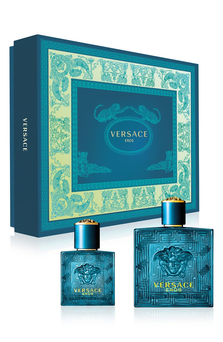 VERSACE Eros Eau de Toilette Set, Main, color, NO COLOR