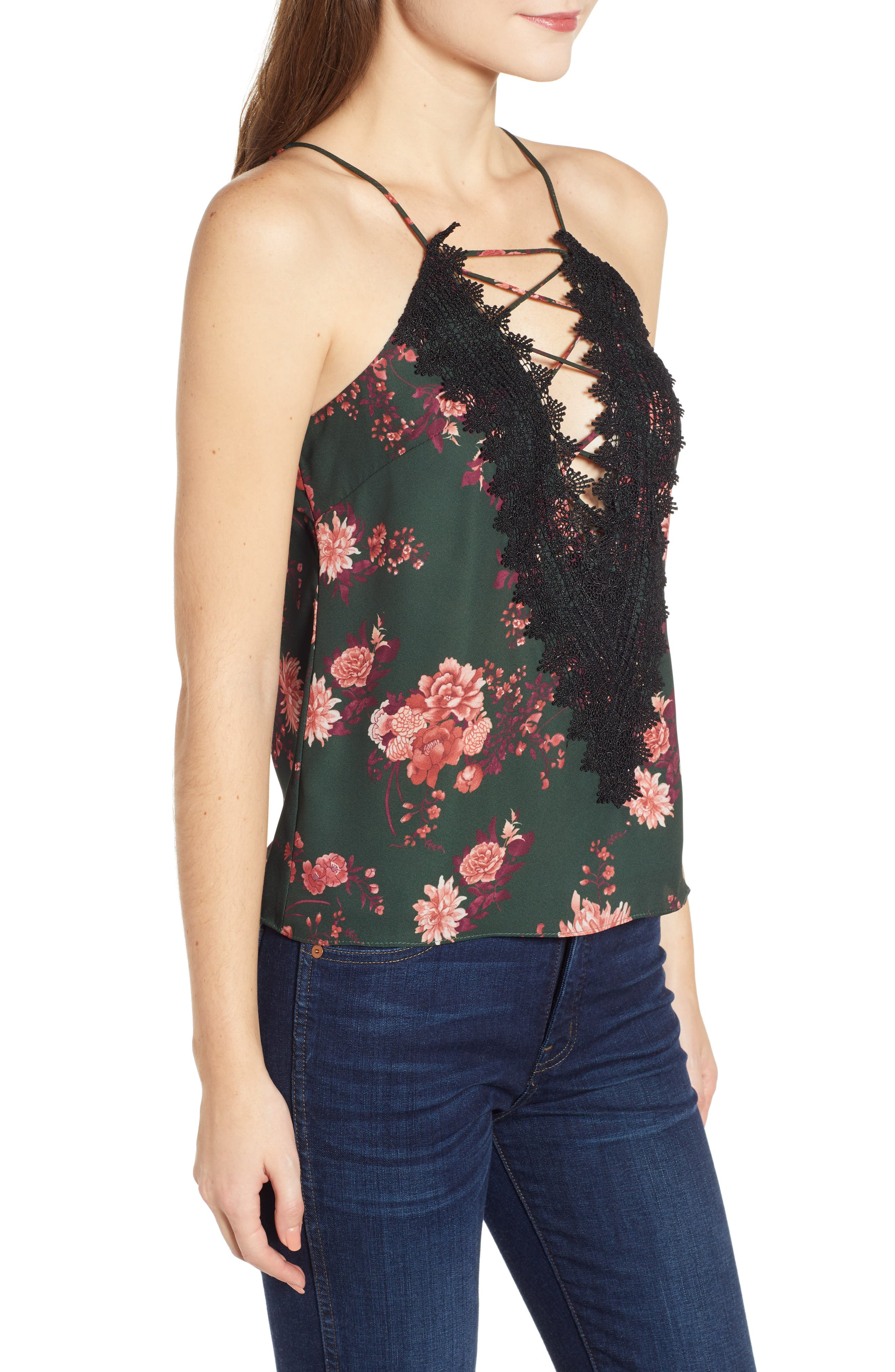 ,                             Posie Strappy Camisole,                             Alternate thumbnail 154, color,                             300