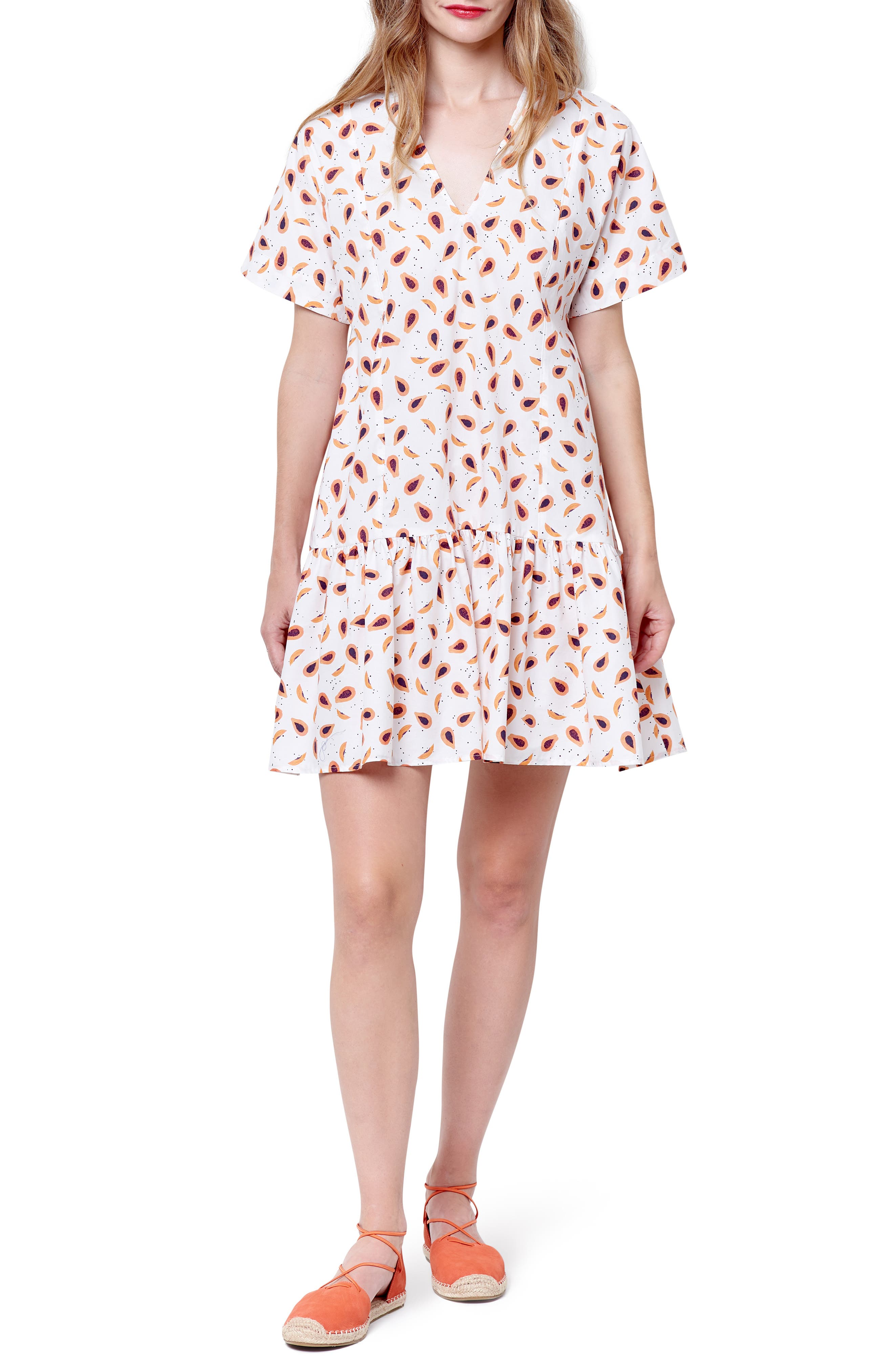 Piper Print V-Neck Dress