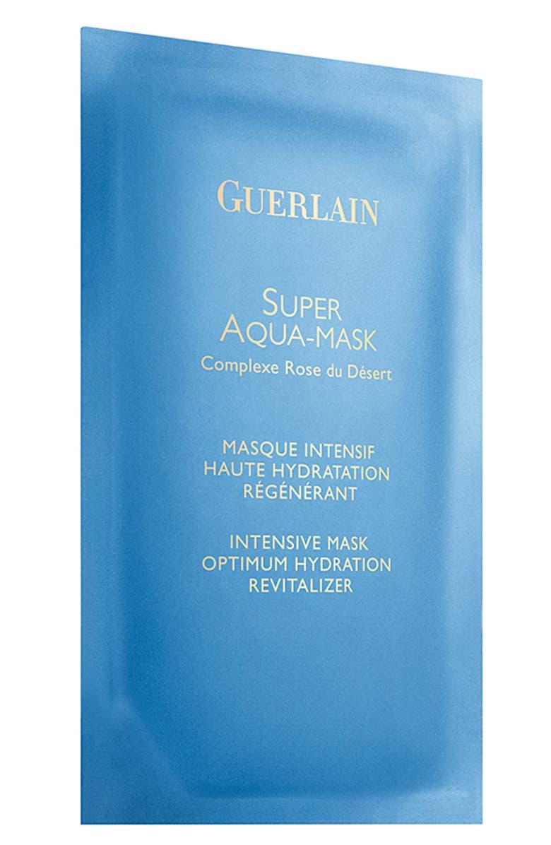 GUERLAIN Set of 6 Super Aqua Intense Hydrating Mask, Main, color, 000