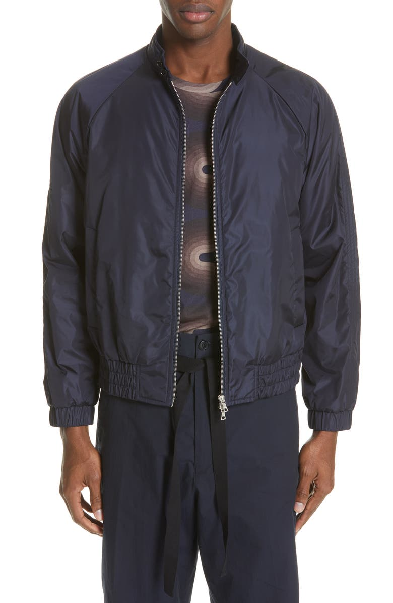 DRIES VAN NOTEN Vilbert Bomber Jacket, Main, color, 410