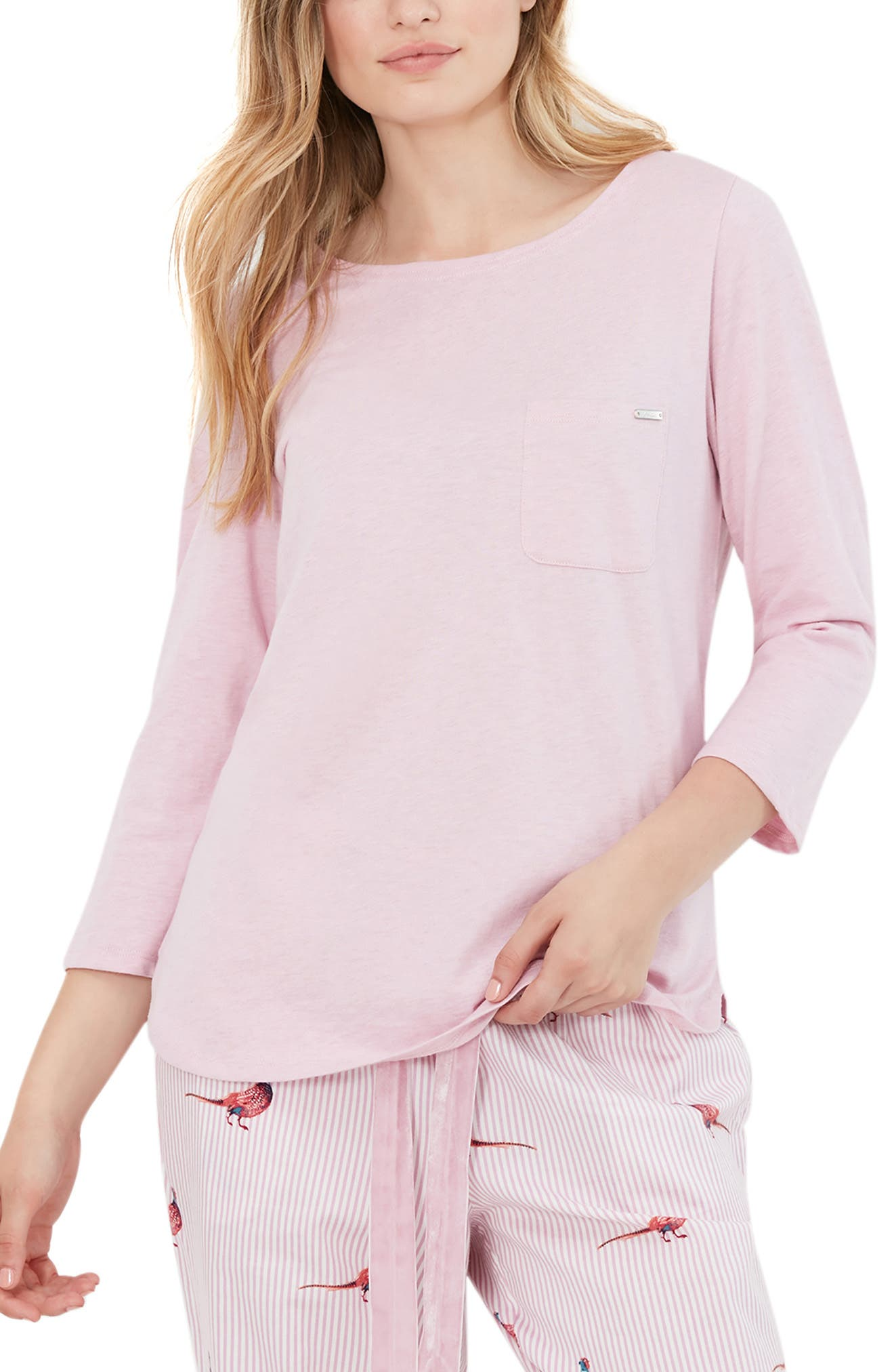 Pocket Lounge Cotton T-Shirt