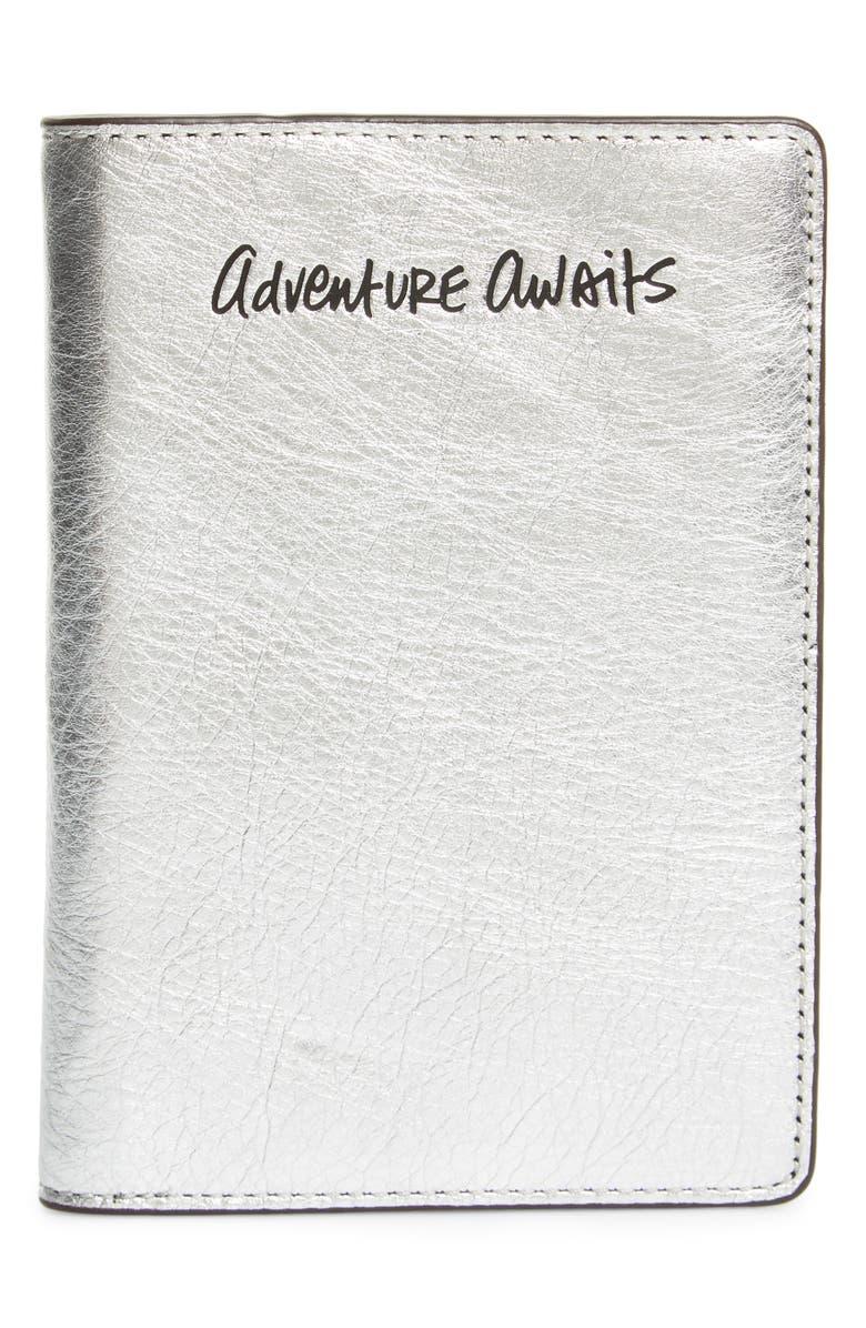 REBECCA MINKOFF Adventure Awaits Passport Case, Main, color, 040