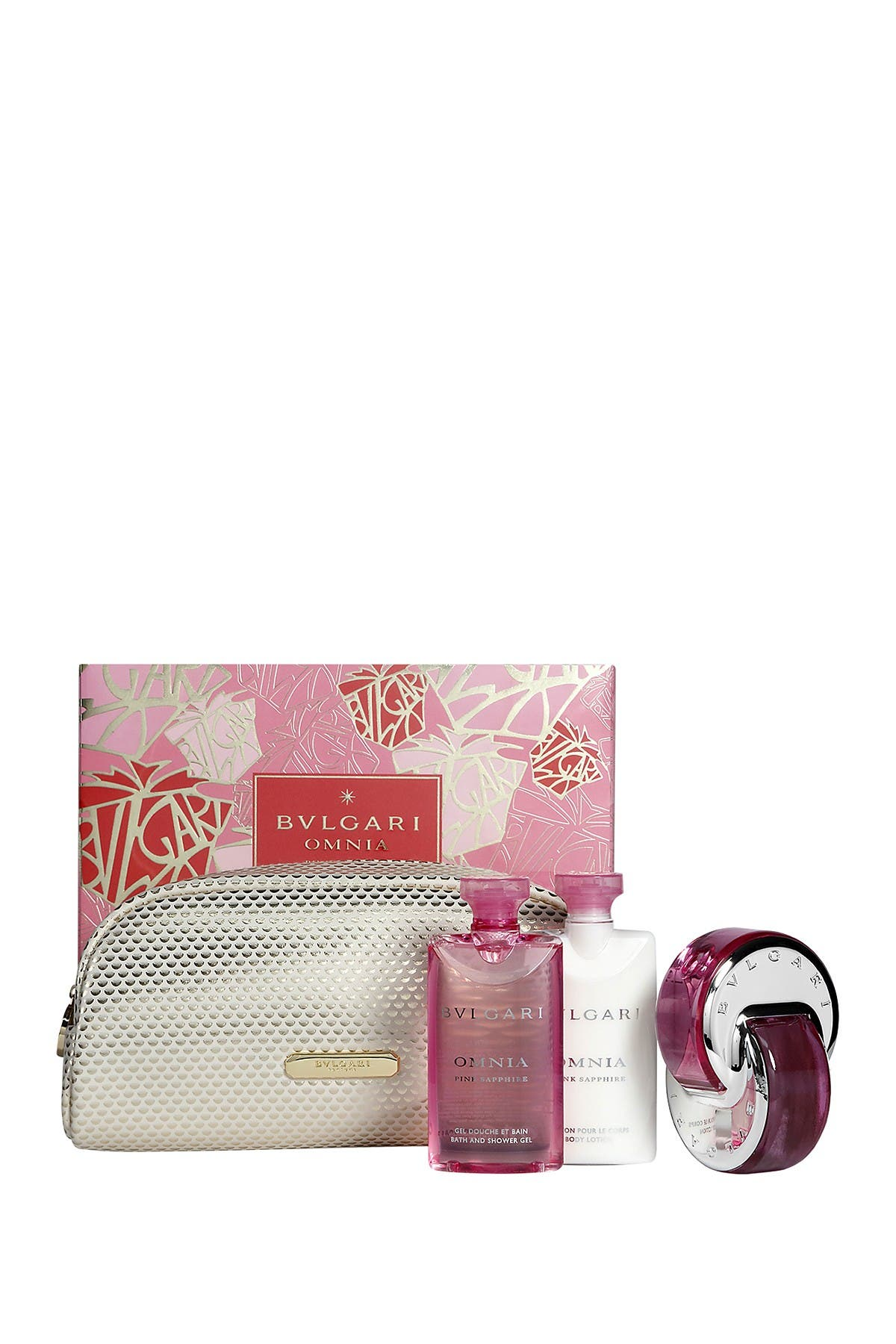 Image of Bvlgari Omnia Pink Sapphire Eau de Toilette 4-Piece Gift Set