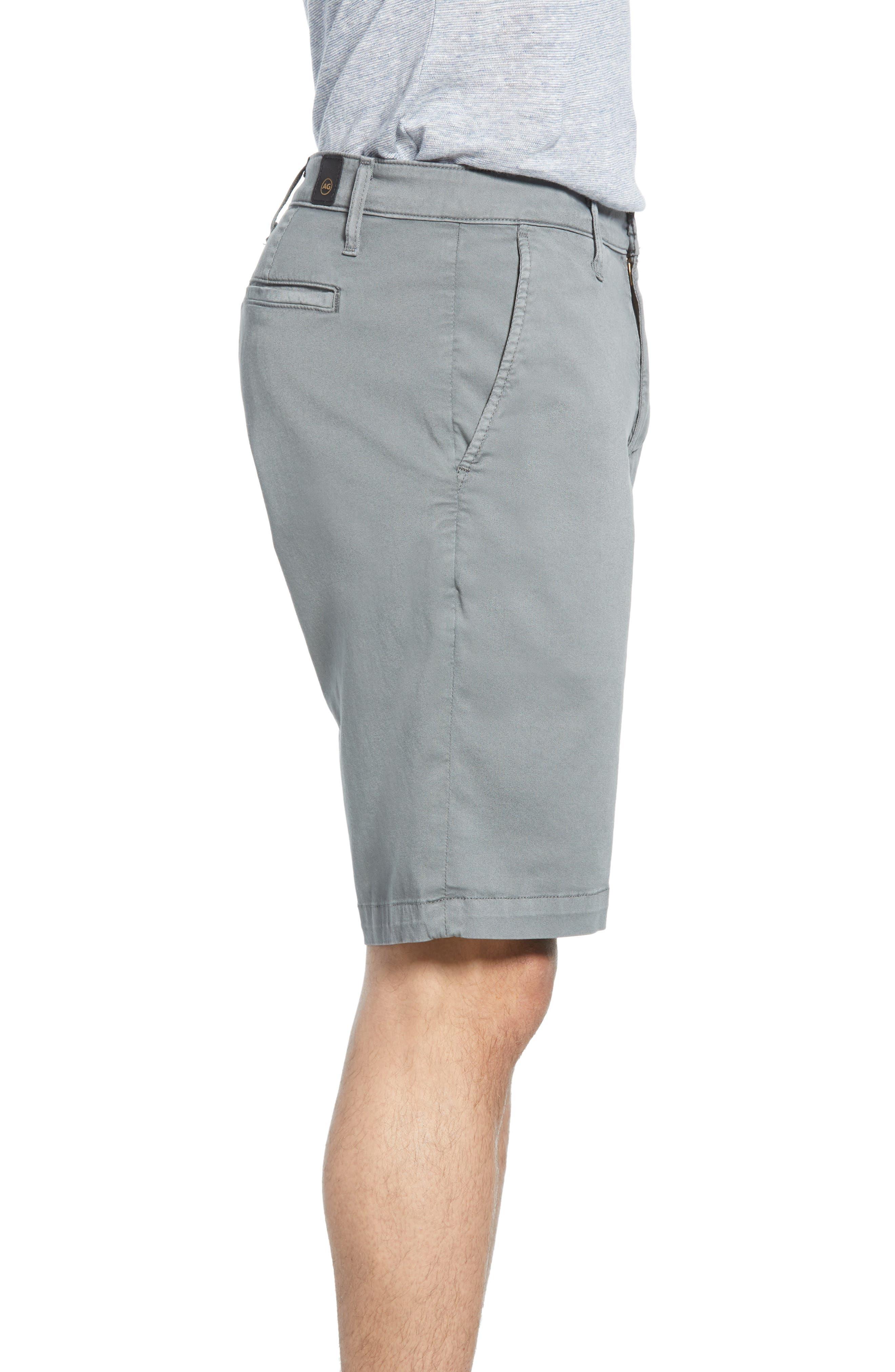 ,                             Griffin Regular Fit Shorts,                             Alternate thumbnail 3, color,                             SULFU FOG BEACON