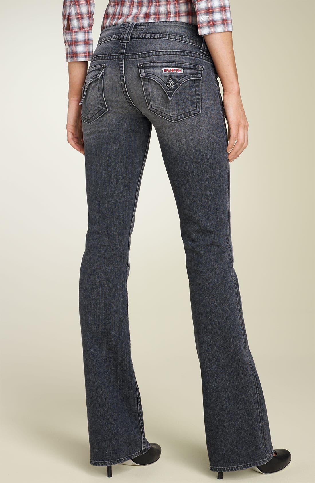 ,                             Signature Flap Pocket Bootcut Jeans,                             Alternate thumbnail 15, color,                             020